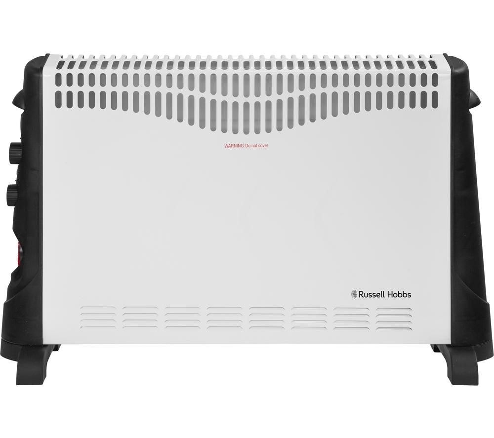 RUSSELL HOBBS RHCVH4002 Portable Convector Heater - Black & White, Black