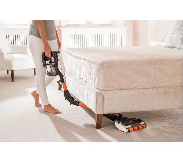 Shark IF250UK Cordless Vacuum Cleaner with DuoClean & Flexology - Orange, Orange