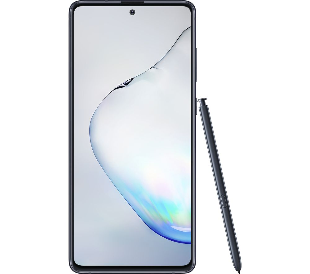 Samsung Galaxy Note 10 Lite - 128 GB, Aura Black, Black