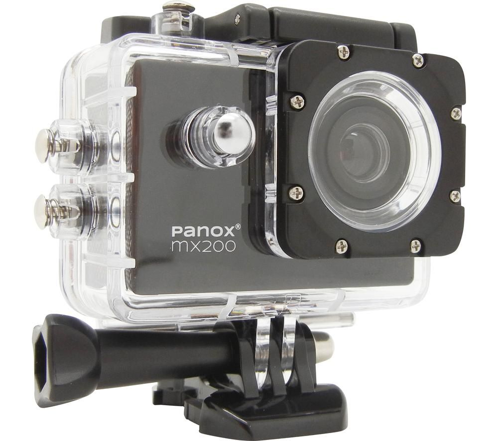 EASYPIX Panox MX200 Action Camera - Black, Black