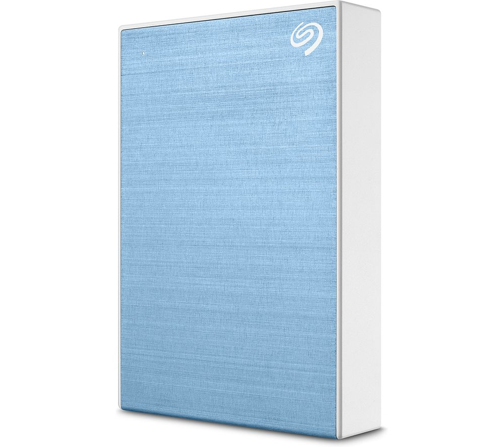 SEAGATE One Touch Portable Hard Drive - 5 TB, Blue, Blue