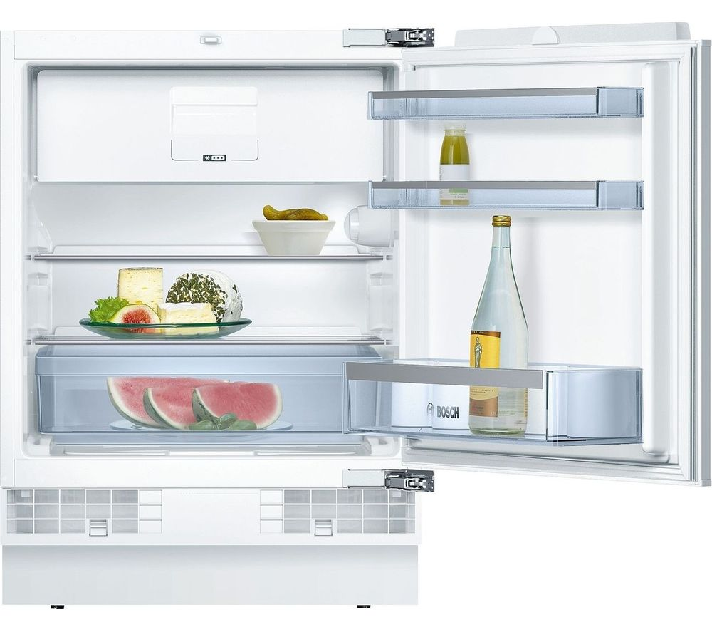 BOSCH Serie 6 KUL15AFF0G Integrated Undercounter Fridge - Fixed Hinge
