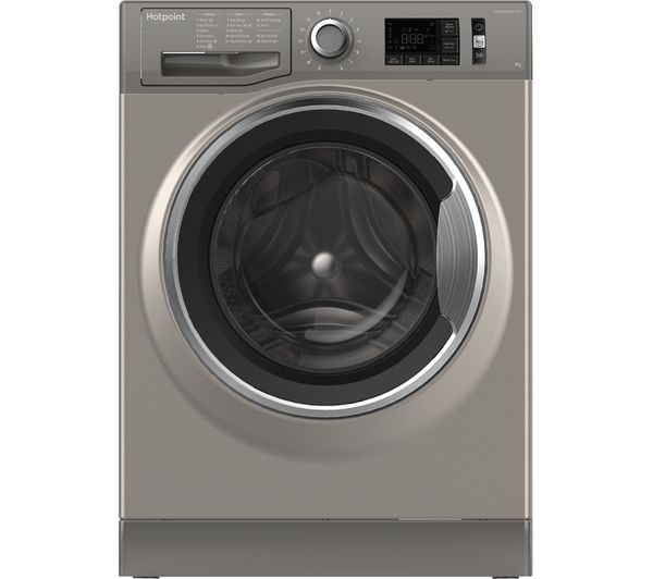 Hotpoint ActiveCare NM11 964 GC A UK 9 kg 1600 Spin Washing Machine - Graphite, Graphite