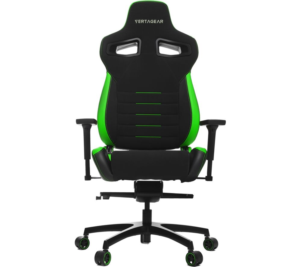 VERTAGEAR P-Line PL4500 Gaming Chair - Black & Green, Black