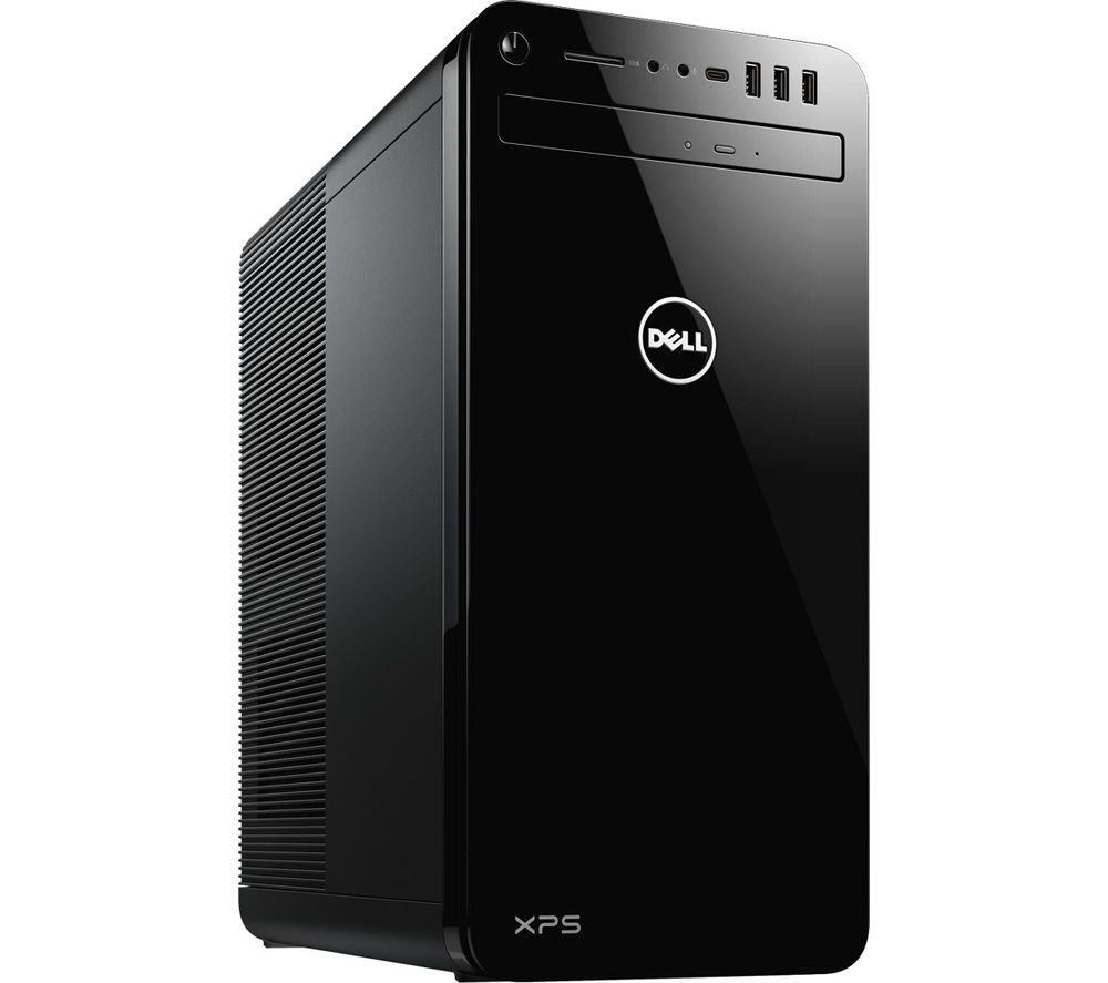 DELL XPS DT 8930 Desktop PC - Intel® Core™ i5, 1 TB HDD & 256 GB SSD, Black, Black