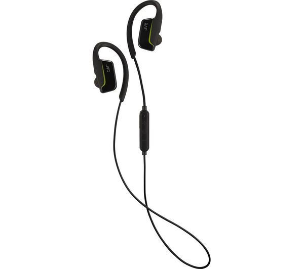 JVC HA-EC30BT-BE Wireless Bluetooth Headphones - Black, Black