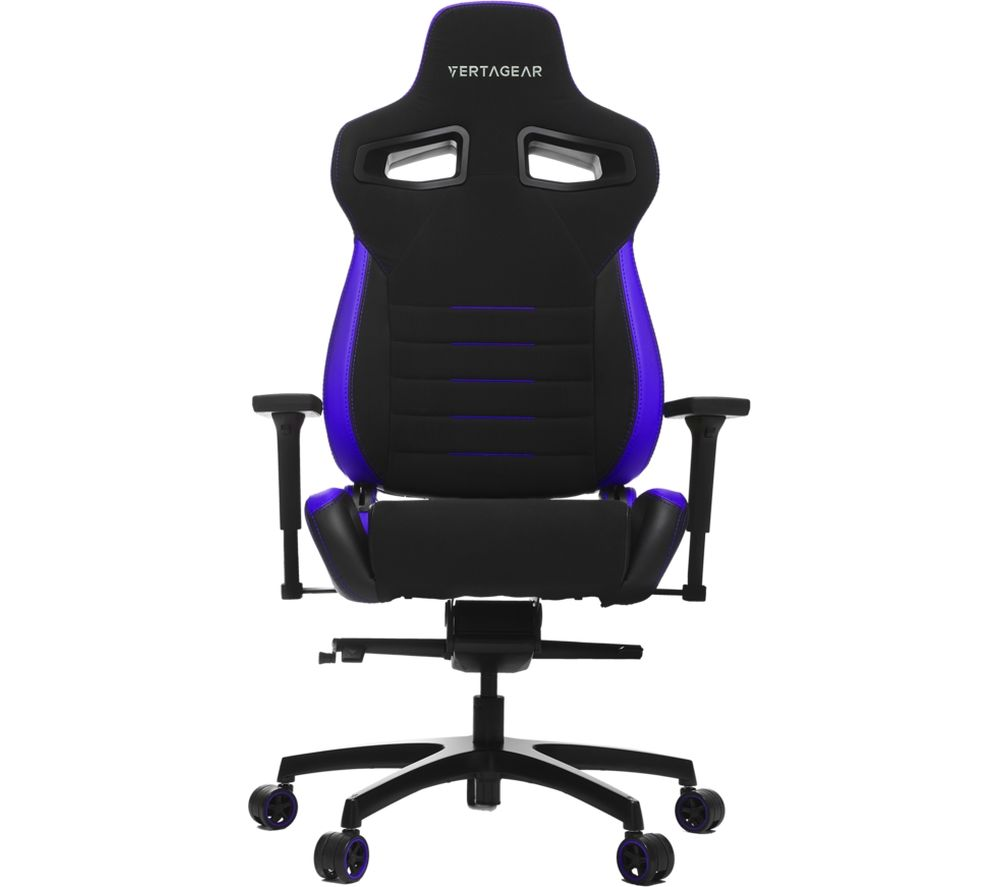 VERTAGEAR P-Line PL4500 Gaming Chair - Black & Purple, Black