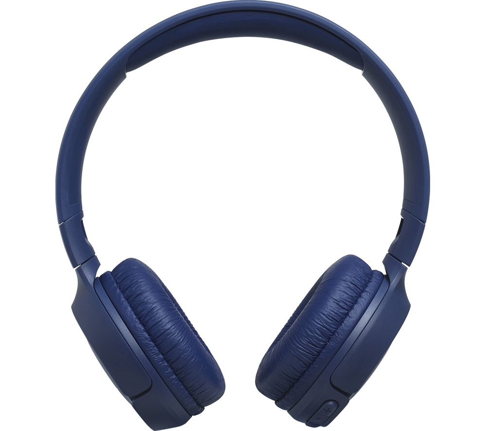 JBL Tune 500BT JBLT500BTBLU Wireless Bluetooth Headphones - Blue, Blue