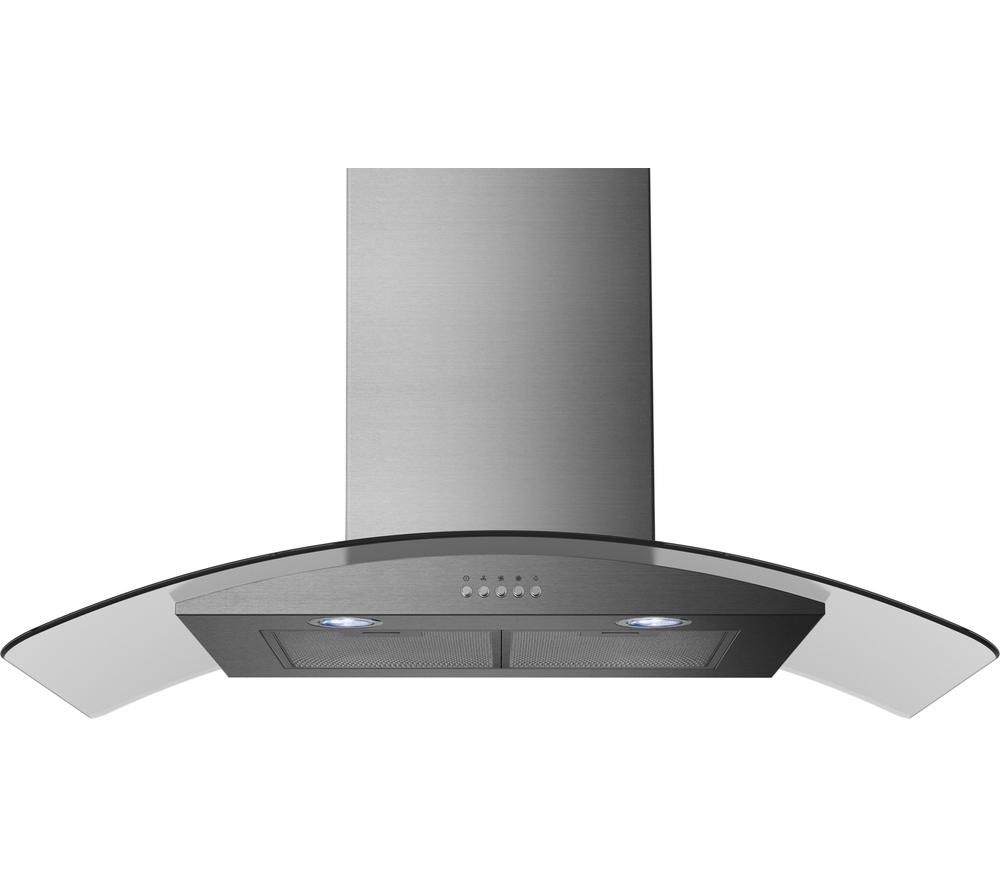 RUSSELL HOBBS RHGCH901SS Chimney Cooker Hood - Stainless Steel, Stainless Steel