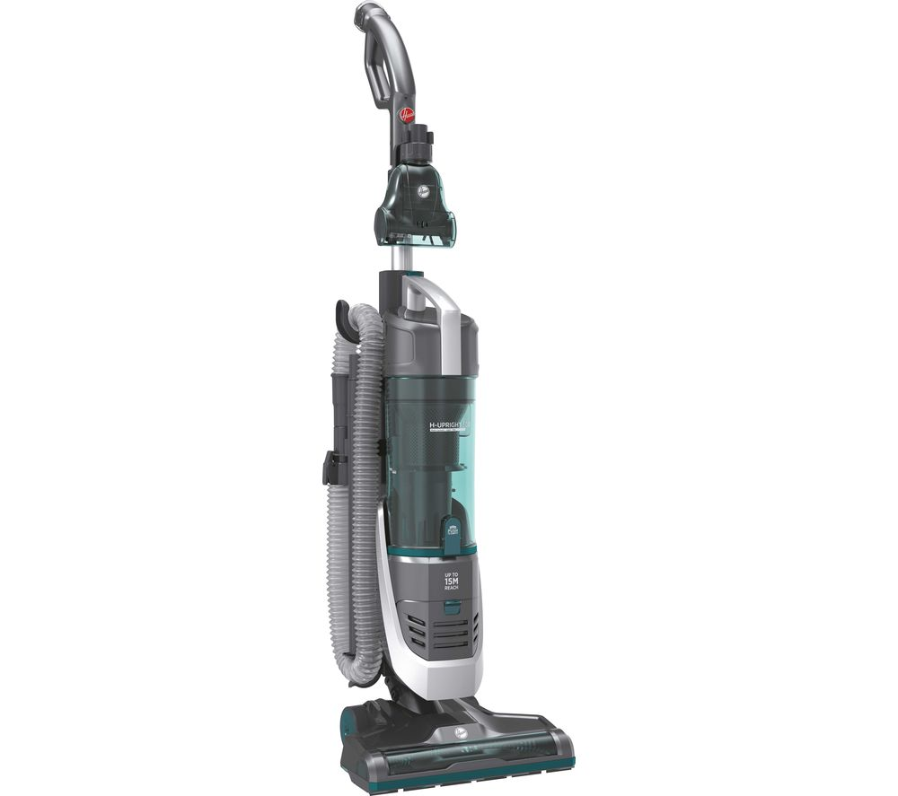 HOOVER H-Upright 500 Reach Home Upright Bagless Vacuum Cleaner - Teal & Grey, Teal