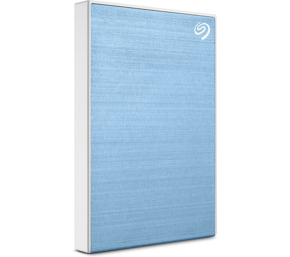 SEAGATE One Touch Portable Hard Drive - 1 TB, Blue, Blue