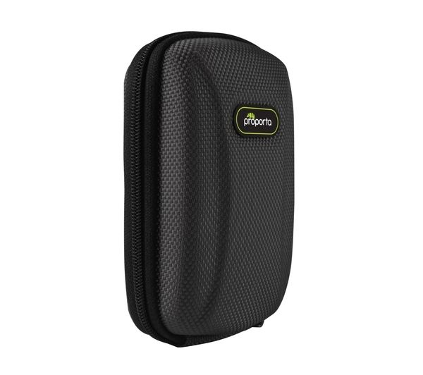 PROPORTA Protective Hard Shell Camera Case - Black, Black