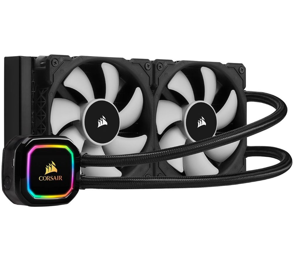 CORSAIR iCUE H100i XT Liquid 240 mm CPU Cooler - RGB LED