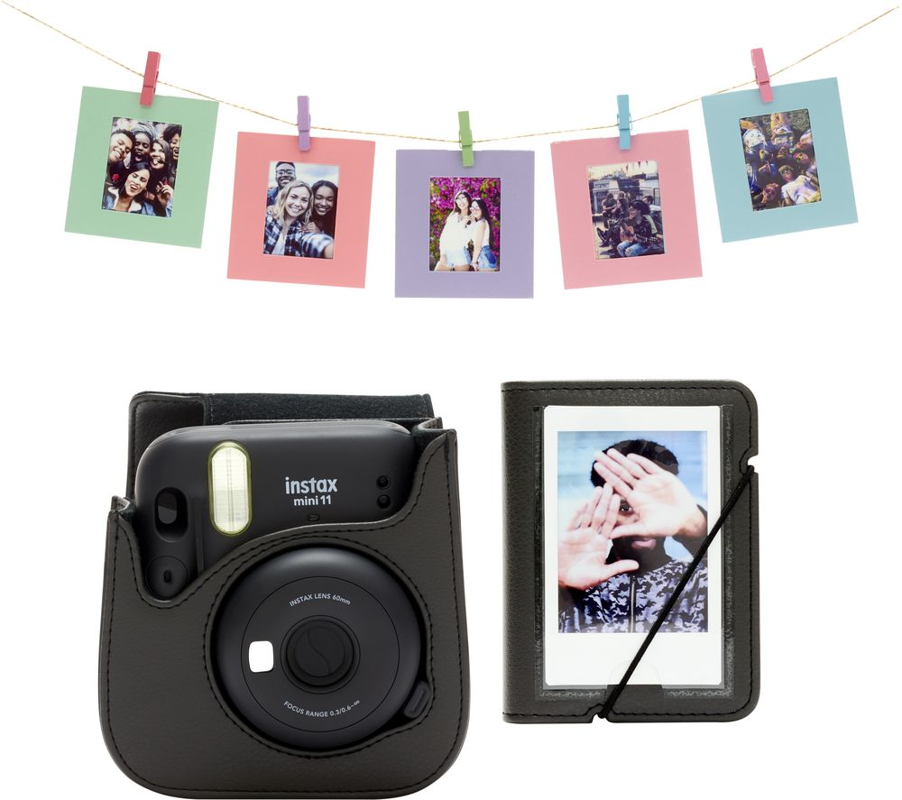 INSTAX Mini 11 Accessory Kit - Charcoal Grey, Charcoal