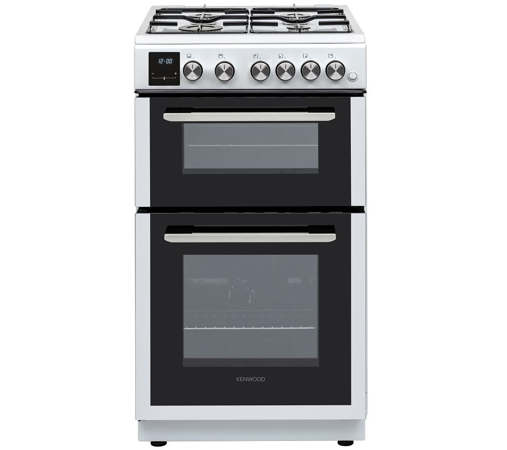 KENWOOD KTG506W19 50 cm Gas Cooker - White, White