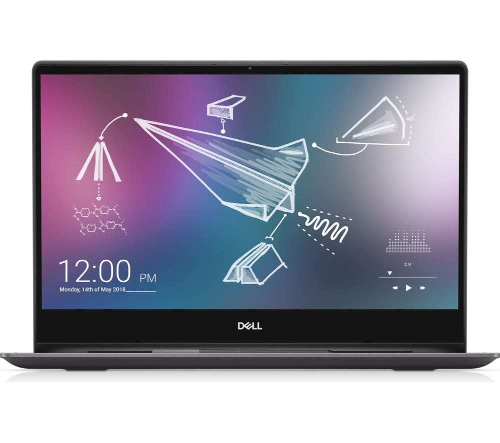 DELL Inspiron 13 7391 13.3 Intel® Core™ i7 2 in 1 - 512 GB SSD, Black, Black