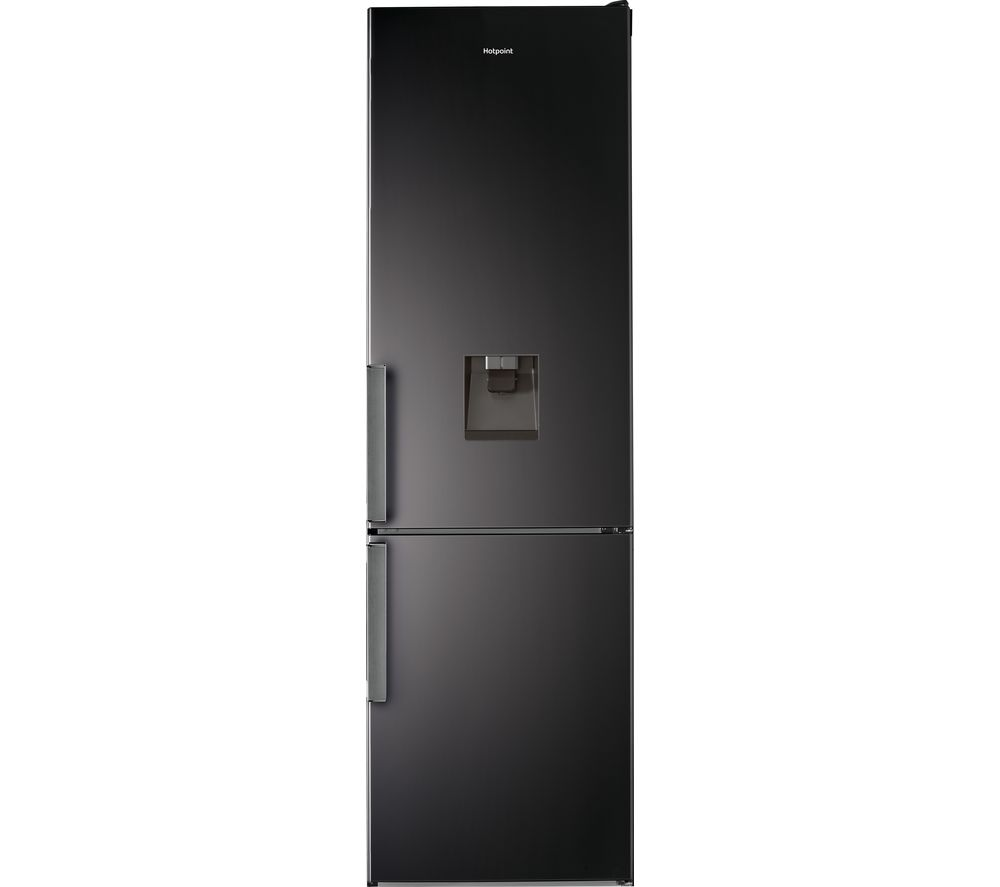 HOTPOINT H7T 911A KS H AQUA 70/30 Fridge Freezer - Black, Aqua