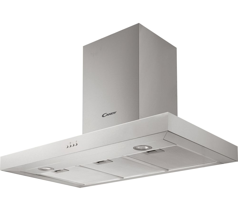 CMB955X Chimney Cooker Hood - Stainless Steel, Stainless Steel