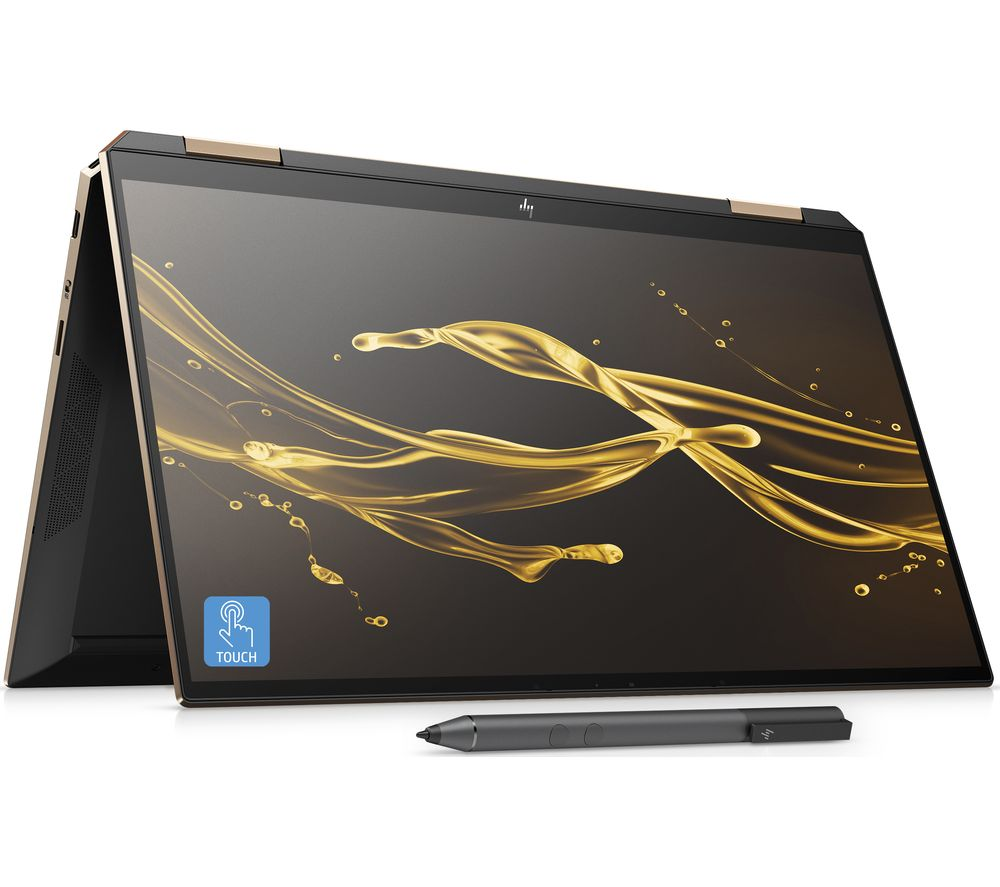 "HP Spectre x360 13.3"" 2 in 1 Laptop - Intel®Core™ i7, 1 TB SSD, Black, Black"