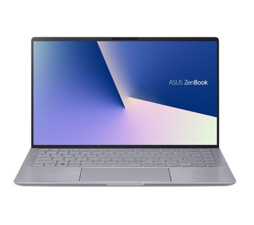"ASUS ZenBook 14 UM433IQ-A5037T 14"" Laptop - AMD Ryzen 5, 256 GB SSD, Grey, Grey"