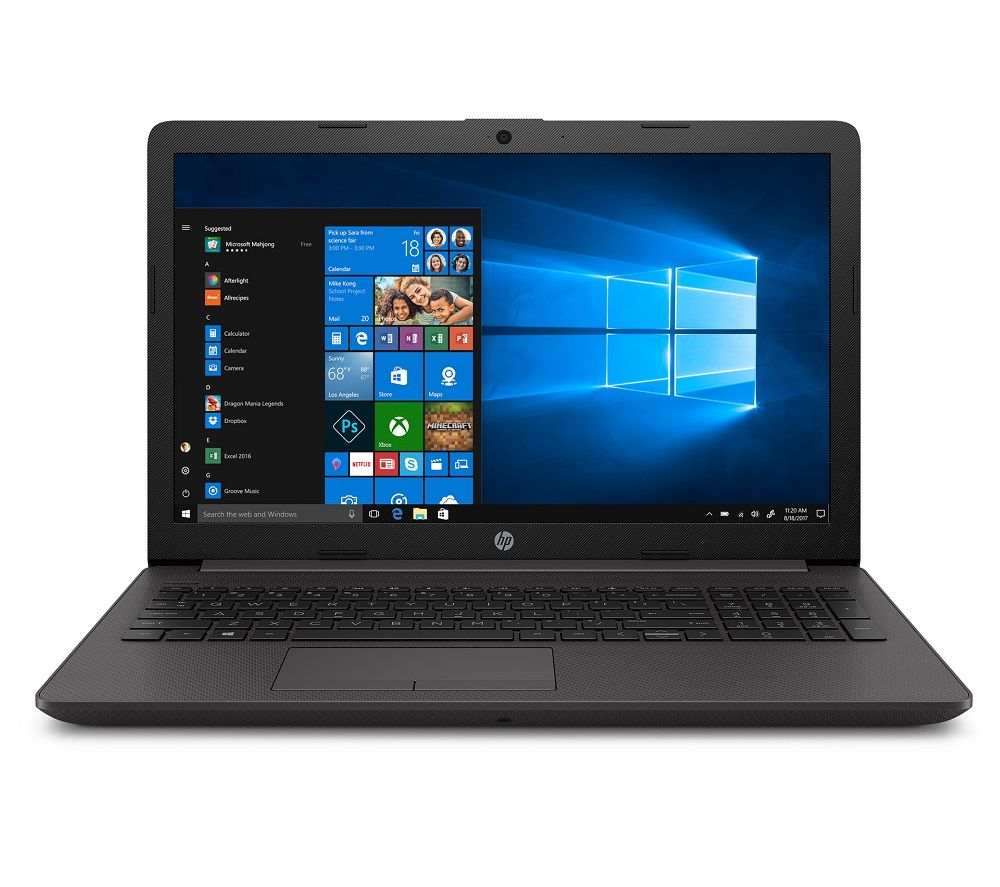 "HP 255 G7 15.6"" Laptop - AMD Ryzen 5, 256 GB SSD, Black, Black"
