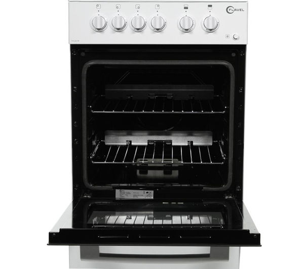FLAVEL FHLG51W Gas Cooker - White, White