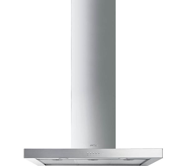 SMEG KS90XE-2 Chimney Cooker Hood - Stainless Steel, Stainless Steel