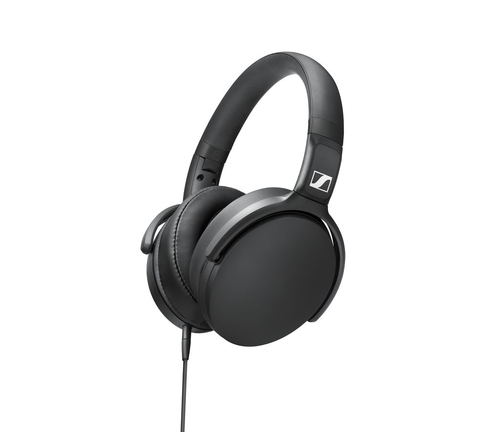 HD 400S Headphones - Black, Black
