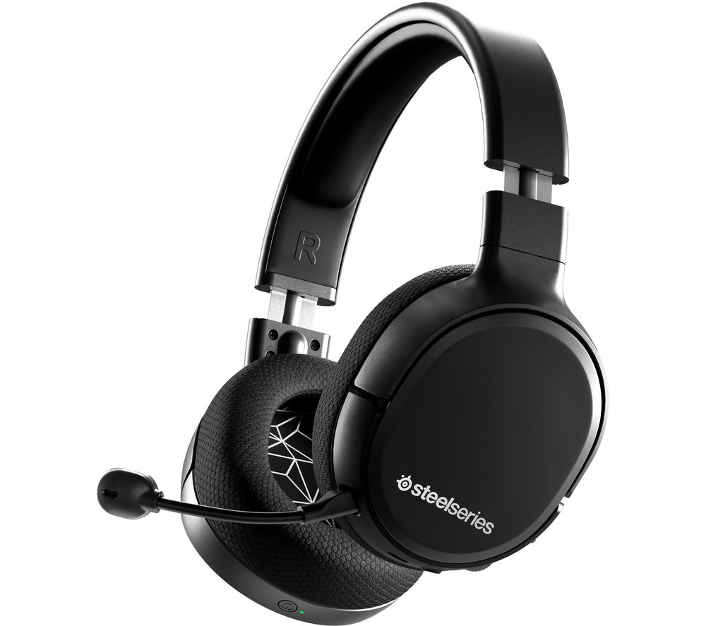 SteelserieS Arctis 1 Wireless 7.1 Gaming Headset - Black, Black