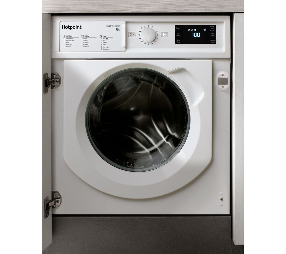 HOTPOINT BIWMHG81484 Integrated 8 kg 1400 Spin Washing Machine