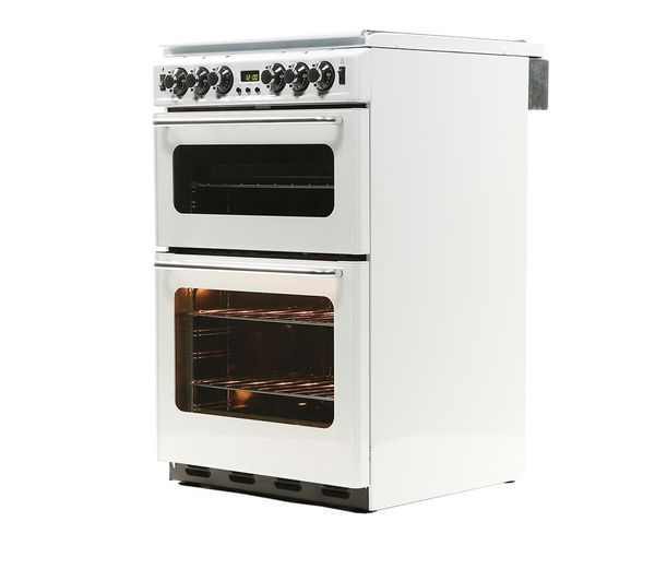 NEW WORLD Newhome NW550TSIDLM Gas Cooker - White, White