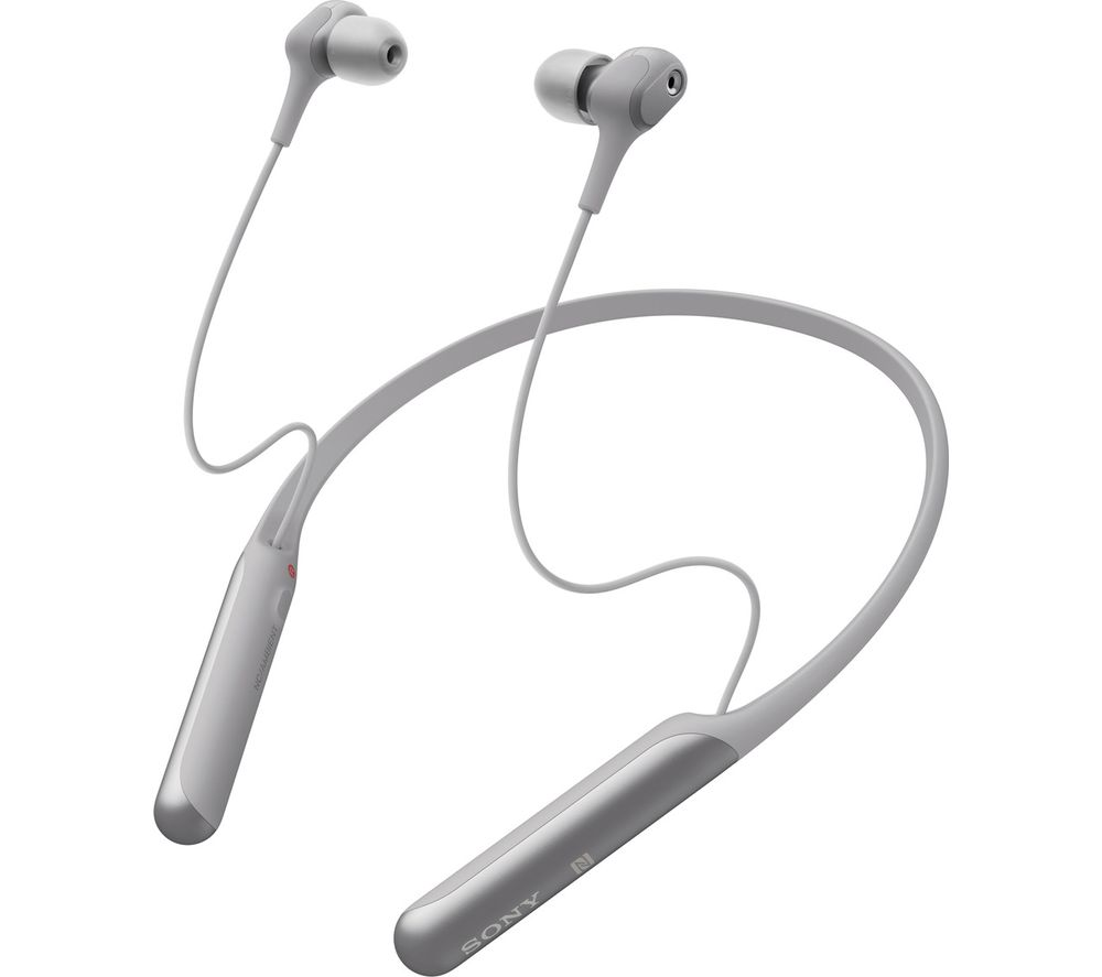 SONY WI-C600N Wireless Bluetooth Noise-Cancelling Earphones - Grey, Grey