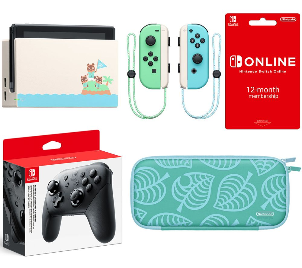 Nintendo Switch Pro Controller Online 12 Month Membership