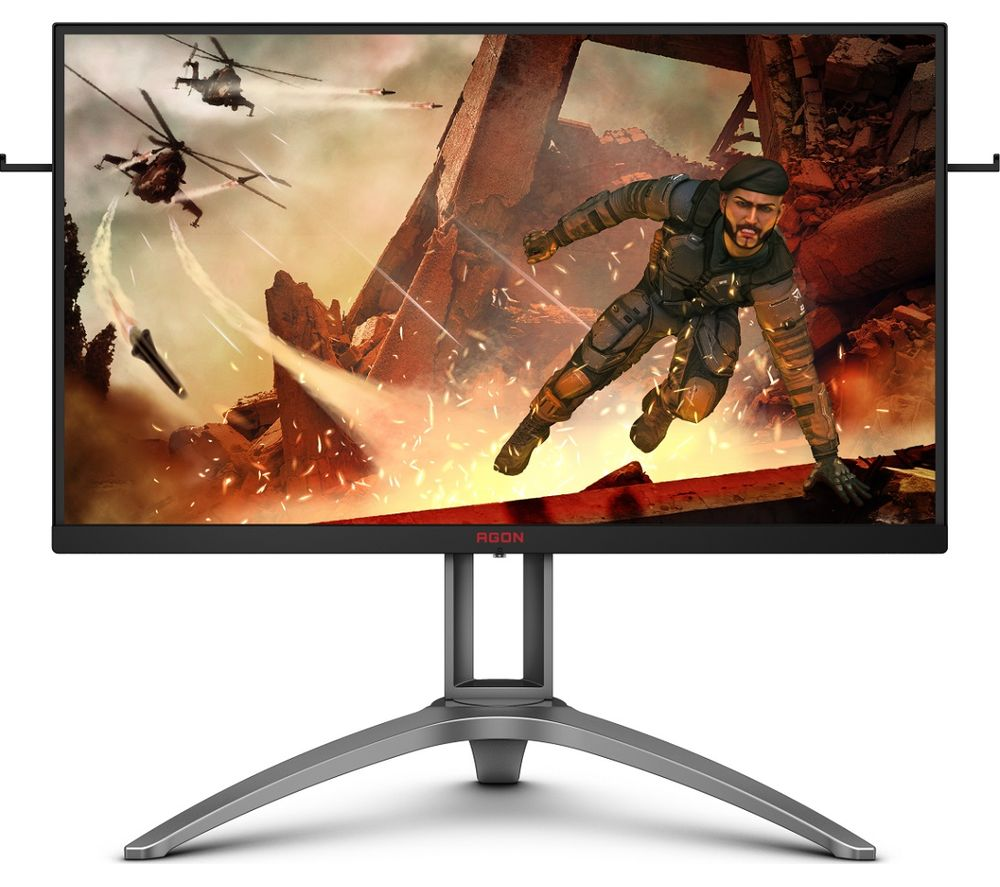 "AOC AG273QX Quad HD 27"" VA Gaming Monitor - Black & Silver, Black"