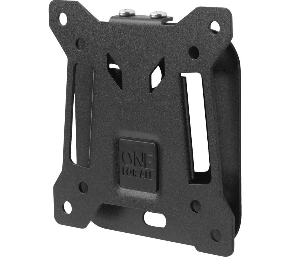 "ONE FOR ALL Smart WM2111 Fixed 13-27"" TV Bracket - Black, Black"