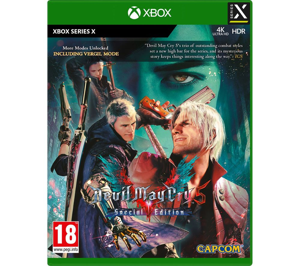 XBOX Devil May Cry V: Special Edition, Red