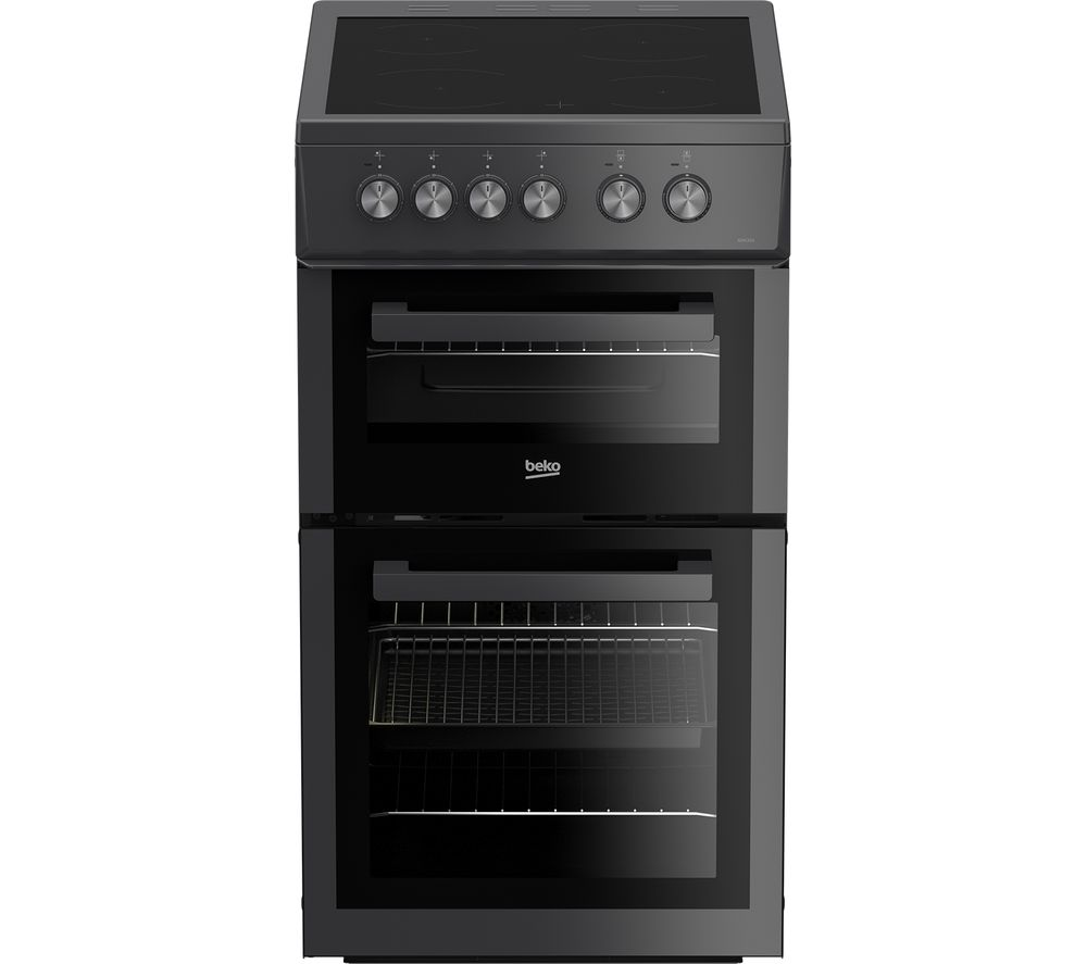 BEKO XDVC553AT 50 cm Electric Ceramic Cooker - Anthracite, Anthracite