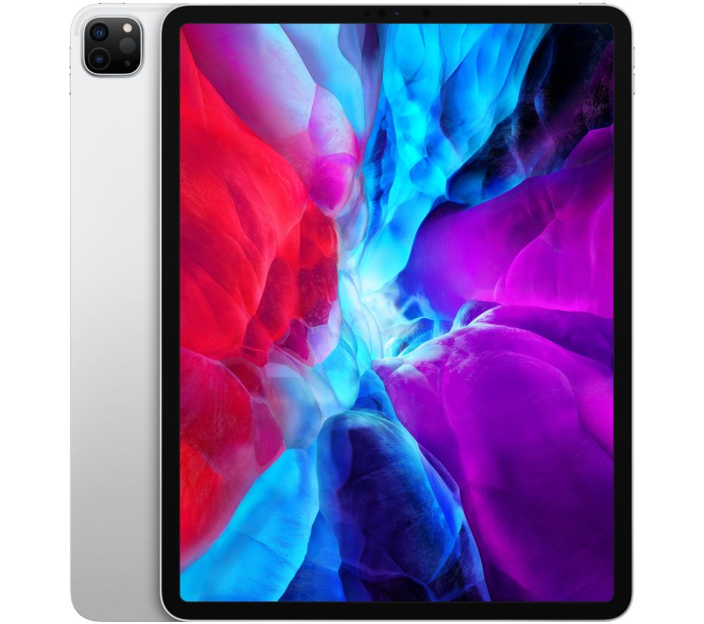 "APPLE 12.9"" iPad Pro (2020) - 256 GB, Silver, Silver"