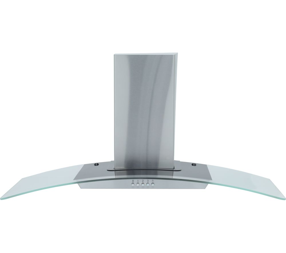 MONTPELLIER MHE900LX Chimney Cooker Hood - Stainless Steel, Stainless Steel