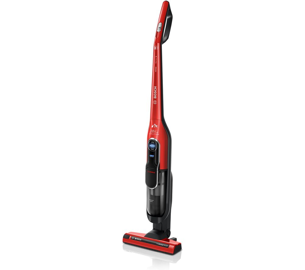 BOSCH Serie 6 Athlet ProAnimal BCH86PETGB Cordless Vacuum Cleaner - Red, Red