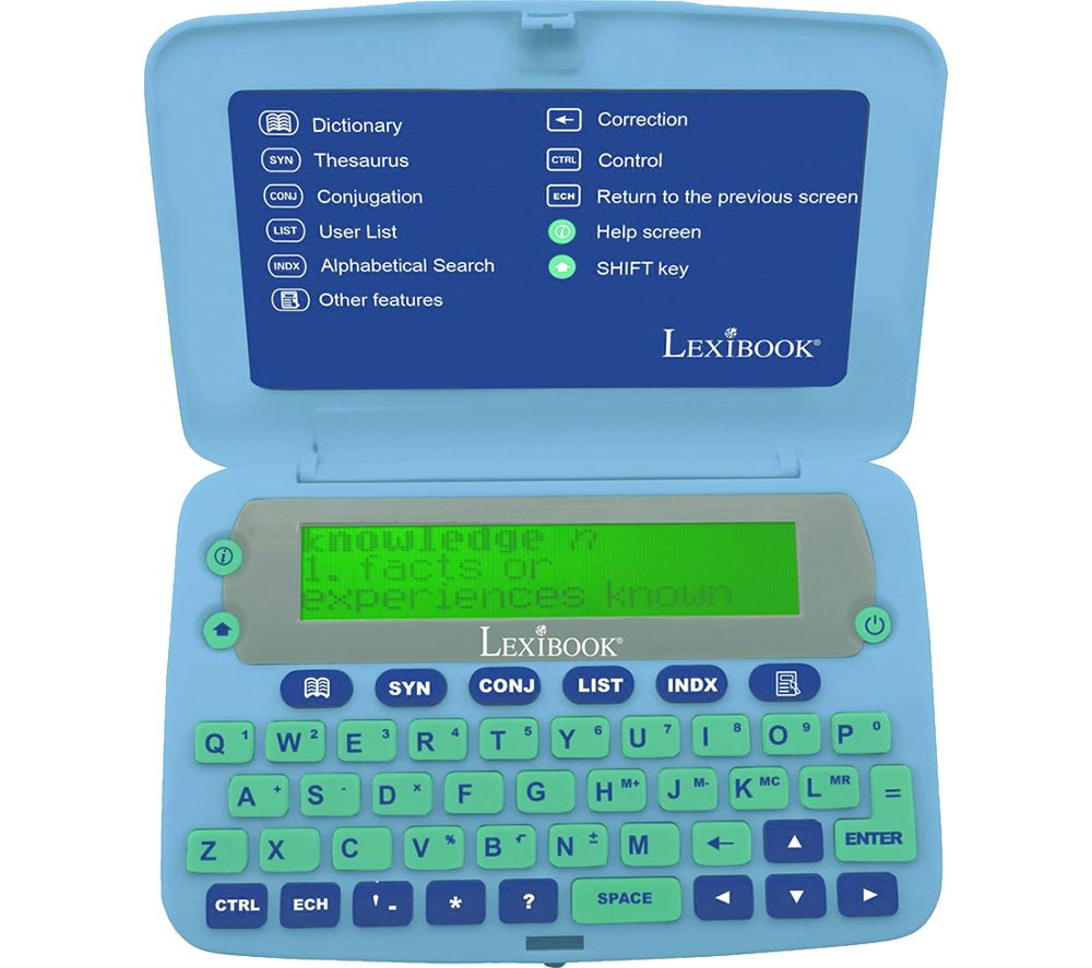 LEXIBOOK D650EN English Electronic Dictionary and Thesaurus