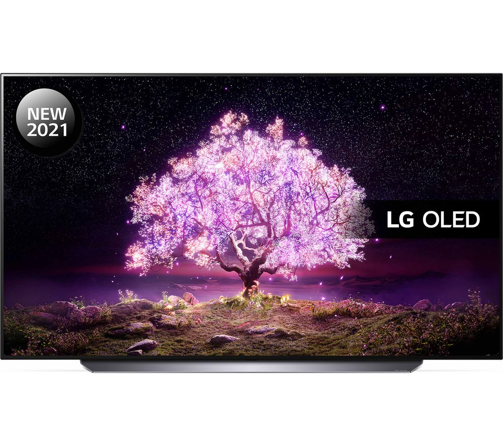 "65"" LG OLED65C14LB  Smart 4K Ultra HD HDR OLED TV with Google Assistant & Amazon Alexa"