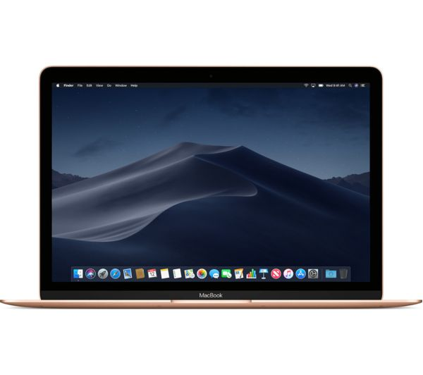 "APPLE MacBook 12"" with Retina Display (2018) - 256 GB SSD, Gold, Gold"