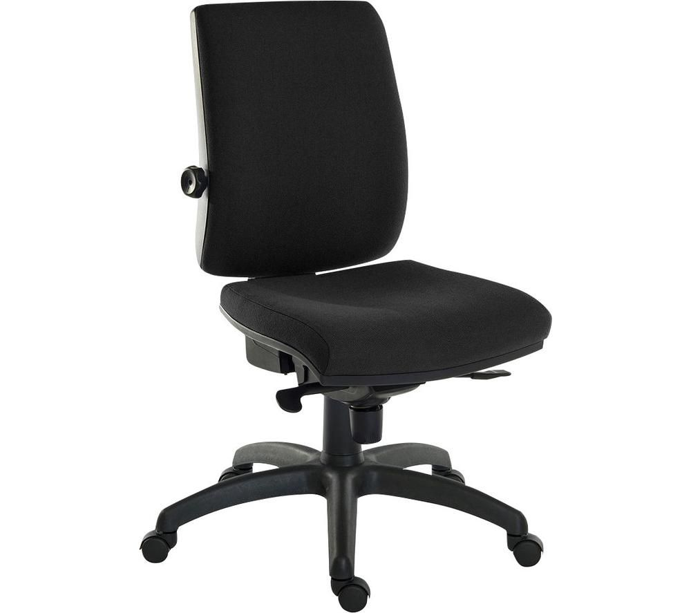 TEKNIK Ergo Plus Fabric Executive Chair - Black, Black