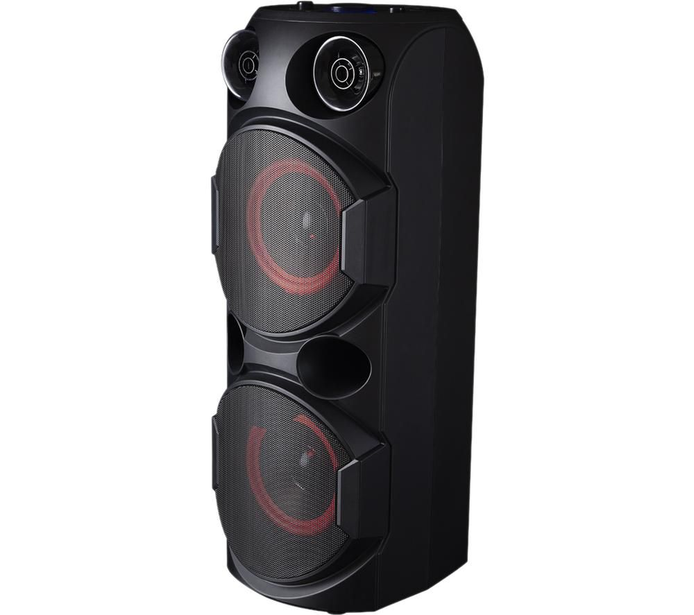 AKAI A58107 Portable Bluetooth Party Speaker - Black, Black