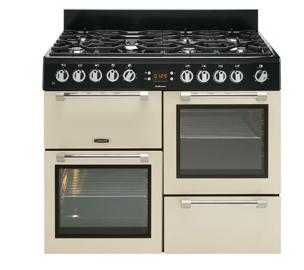 LEISURE Cookmaster CK110F232C Dual Fuel Range Cooker - Cream, Cream