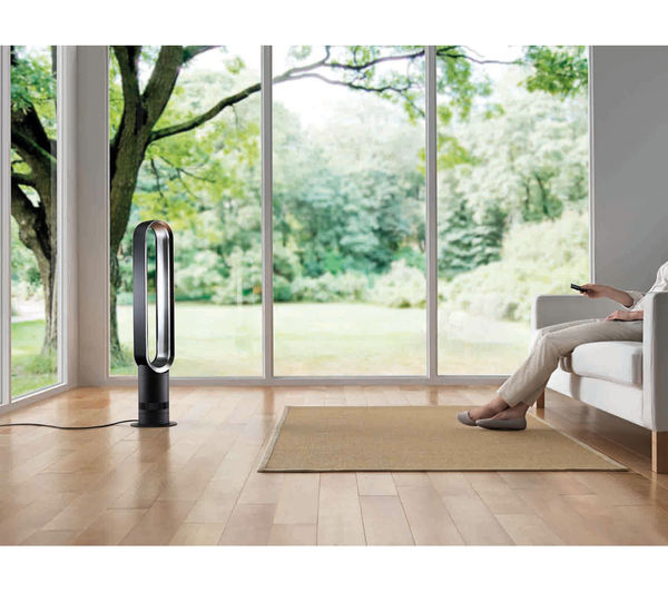 DYSON AM07 Tower Fan - White & Silver, White