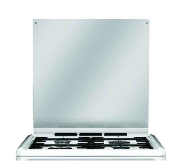 HOTPOINT HUD61P Dual Fuel Cooker - White, White