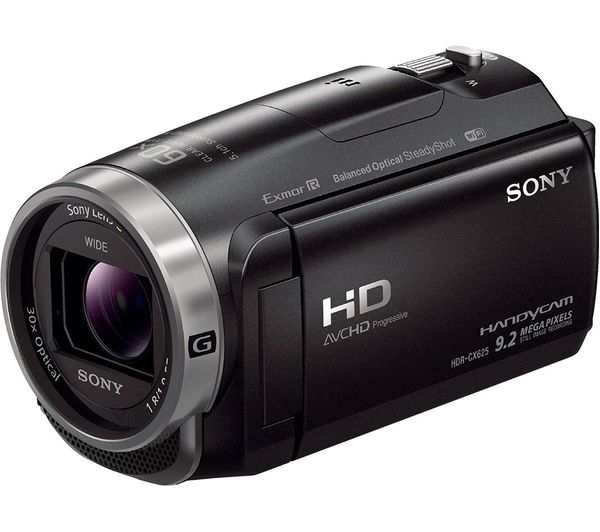 SONY HDR-CX625 Traditional Camcorder - Black, Black