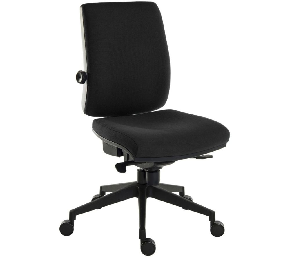TEKNIK Ergo Plus Ultra Fabric Operator Chair - Black, Black